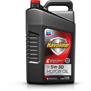 Havoline with Deposit Shield 5W30 Motor Oil, 5 qt
