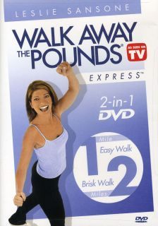 Leslie Sansone: Walk Away The Pounds Express 3PK Easy, Brisk
