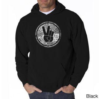Los Angeles Pop Art Mens Make Love Not War Sweatshirt