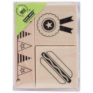 Hero Arts Mounted Rubber Stamps   So Much Fun   15686999