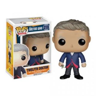 Warlord Games FNK4630 Pop   Doctor Who   Dr. Number 12 Peter Capaldi