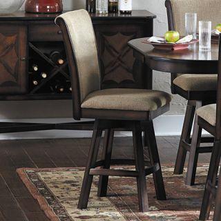 Woodbridge Home Designs Westwood 24 Swivel Bar Stool with Cushion