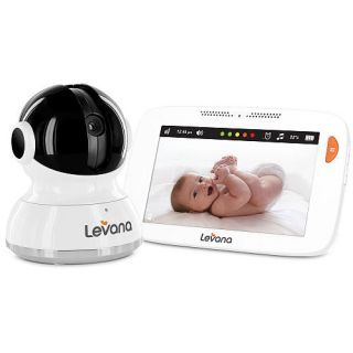 Levana® Willow™ 5inch HD Touchscreen Baby Video Monitor with Pan/Tilt/Zoom Camera    Levana