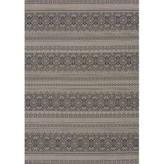 United Weavers of America Solarium Silver Alfresco Indoor/Outdoor Rug