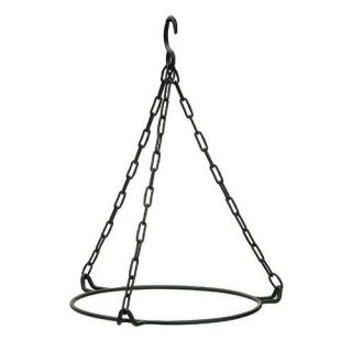 ACHLA Designs BBH 01 Hanging Ring for 12 Bowls in Powder Coated Black