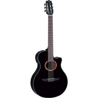 Yamaha NTX700 Nylon String Acoustic Electric Classical Guitar, Black NTX700BL
