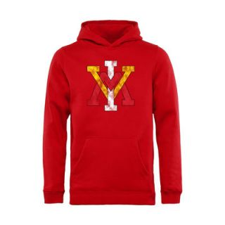 Virginia Military Institute Keydets Youth Classic Primary Pullover Hoodie   Red