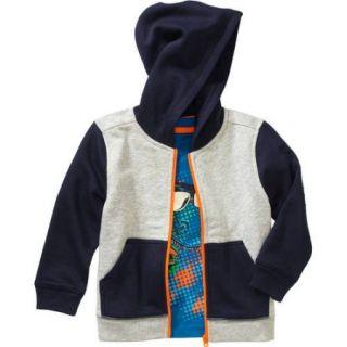Healthtex Baby Toddler Boys' Hoodie and Tee Shirt Set