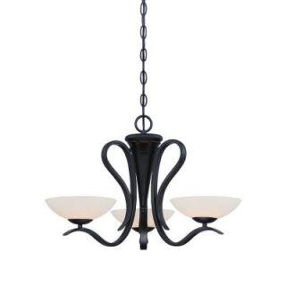 Designers Fountain Galena 3 Light Oil Rubbed Bronze Chandelier 86783 ORB