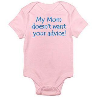 CafePress Newborn Baby Boy, Girl or Unisex Advice Bodysuit