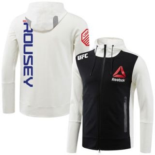 Ronda Rousey UFC Reebok Fight Night Walkout Hoodie   Chalk