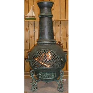 The Blue Rooster Aluminum Natural Gas / Propane Chiminea