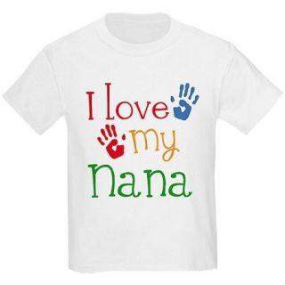 CafePress Kids I Love My Nana Mother's Day T Shirt