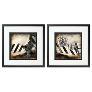 PTM Images Movie Magic 2 Piece Giclée Framed Graphic Art on Canvas