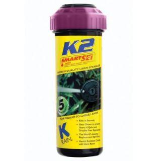 K Rain 5 in. K2 Smartset Reclaim Water Gear Drive Sprinkler 91032