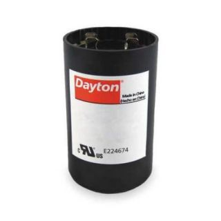 DAYTON 2MEP9 Motor Start Capacitor, 270 324 MFD, Round