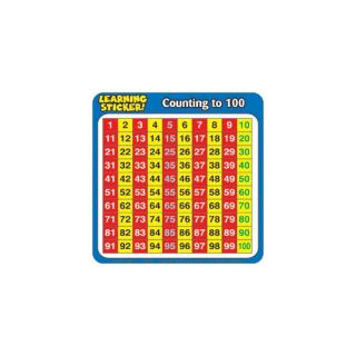 Counting To 100 Learning Chart by Teachers Friend