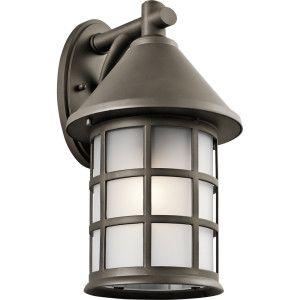 Kichler KIC 49620OZ Town Light Olde Bronze  Outdoor Fixtures Lighting
