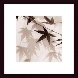 Alan Blaustein Japanese Maple Leaves No. 2 Wood Framed Art Print