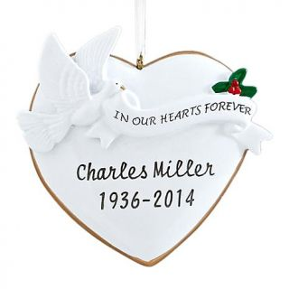 Personal Creations Personalized in Our Hearts Forever Ornament   7646321