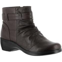 Womens Easy Street Bootz Dark Brown Polyurethane   16502237