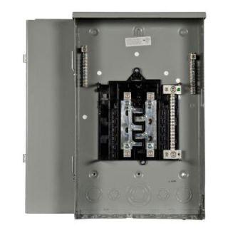 Siemens PL Series 200 Amp 8 Space 16 Circuit Main Lug Outdoor Trailer Panel Load Center PW0816L1200TC