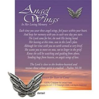 KBC Products 4098 Angel Wings   In Loving Memory for a Girl